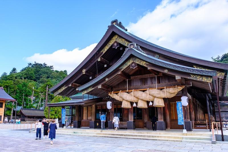 私が案内する島根県のリゾートバイト\神スポット!出雲・玉造温泉/